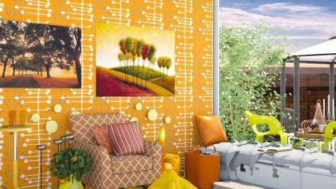 Easy Like A Sunday Mornin - Classic - Living room - by InteriorDesigner111