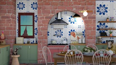 Brekky in Englishland - Kitchen - by Obama_Barack