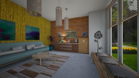 Noah livingroom - Modern - Living room - by Tara T