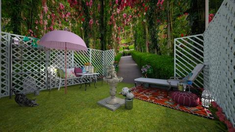 Spring garden - Garden - by Blancac