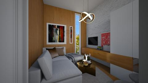 Casa383LivingArea - Modern - Living room - by nickynunes
