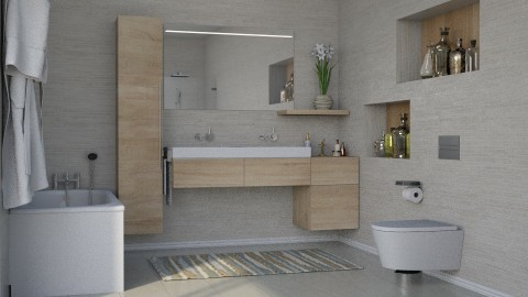Calm REDESIGNED - Bathroom - by meggle