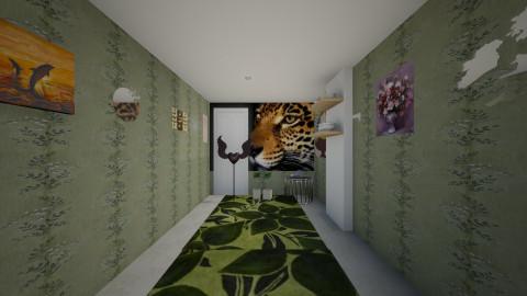 hallway - by Arwyn