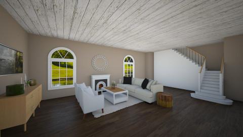 beach home - Living room - by carli1504