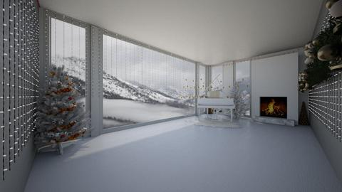 winter - Living room - by belle alderton
