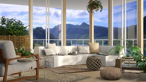 Tayna - Living room - by Alda Neziri
