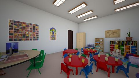 children classroom - by sqwa