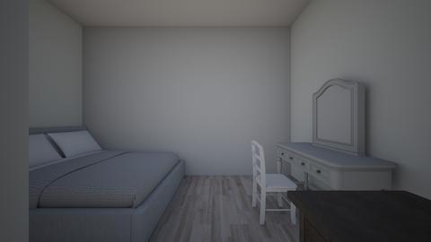 Bedroom Design 1 - Bedroom - by nikki_hannan