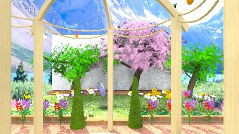 :DD - Vintage - Garden - by DearOliviaLove