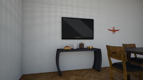 Airplane Living Room - Modern - Dining room - by Alyssabear