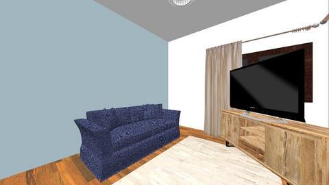 Dragos Vlad parter2 - Living room - by Flori Santa