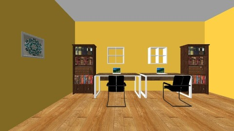 Rustic Office - Rustic - Office - by Abigail Gholston