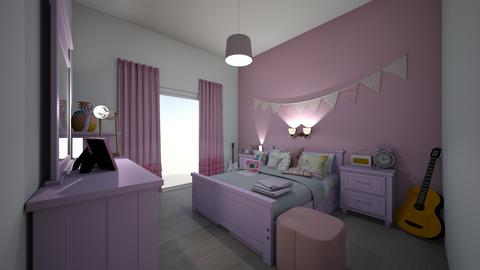 teen pinkish room girly  - Modern - Bedroom - by jade1111