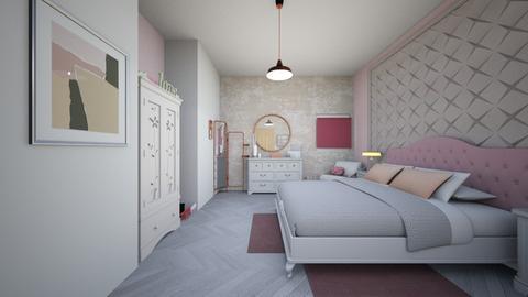 first bedroom - Classic - Bedroom - by elenatsempeli