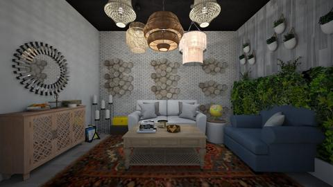 CA - Living room - by Carmit shaked