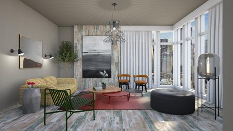 Contest OAK Brown Live - Modern - Living room - by 3rdfloor