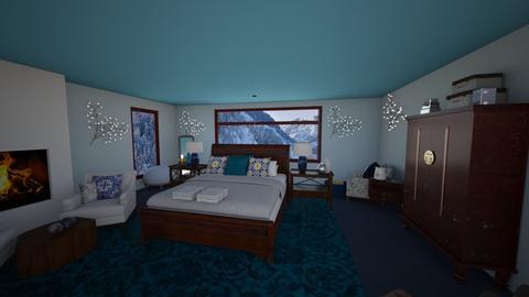 Winter Bedroom - by dedraekelly