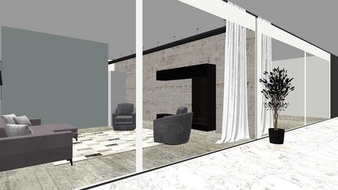 The Loft 2 - Living room - by Dwellings LLC