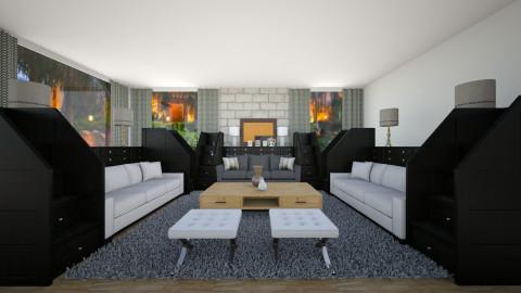 Oakwood - Living room - by mohak shamani