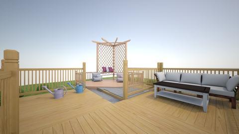 Deck - Garden - by KmasteR