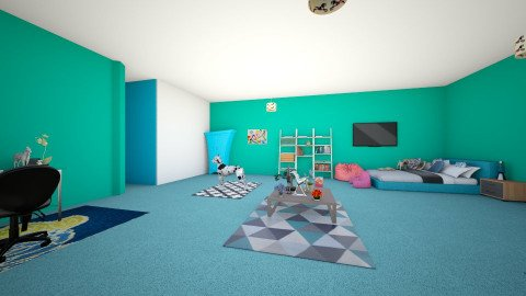 My dream bedroom - Bedroom - by arotino2040