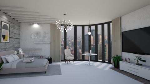 N - Bedroom - by tharinrat