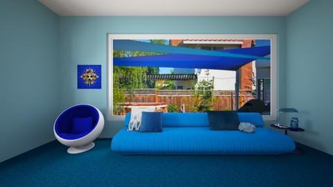 blue room - Living room - by ckjewell