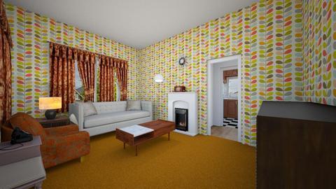 1950s Living Room - Living room - by SammyJPili