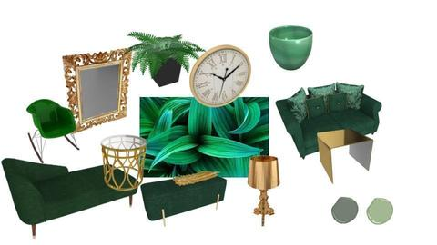 Emerald and Gold - by Alexa Design