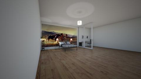 Horse - Bedroom - by LaurenTheOwl95