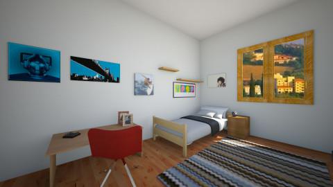 camerina - Bedroom - by lollouio