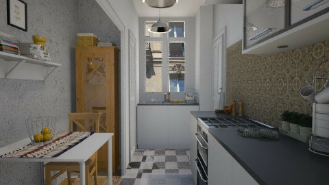 Paris tiny room - Classic - Kitchen - by Tuija