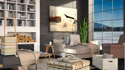 Remix of Winter - Modern - Living room - by Isaacarchitect
