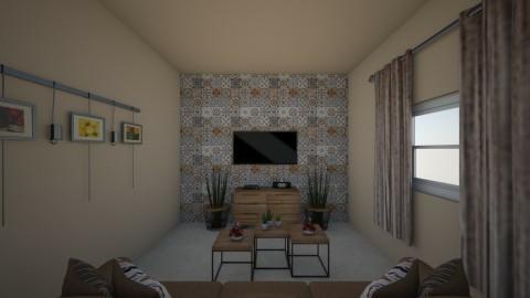 saon beige - Retro - Living room - by melanie99