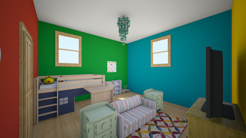 kids playroom - Minimal - Kids room - by Kaylie Marlowe
