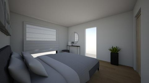 masterbedroomV1 - Modern - Bedroom - by jolienpeys
