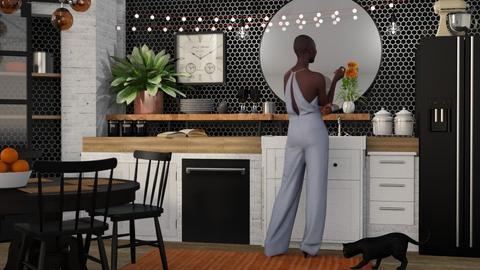 b o h o k i t c h e n - Kitchen - by Kelli Mallory