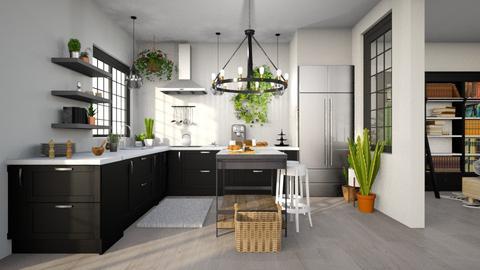 Boho Kitchen - Kitchen - by wholesnac