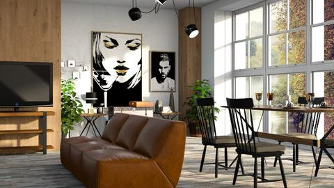 Burton - Living room - by ZuzanaDesign