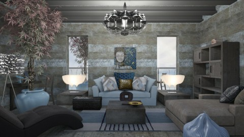 Striped Interior - by ritsa