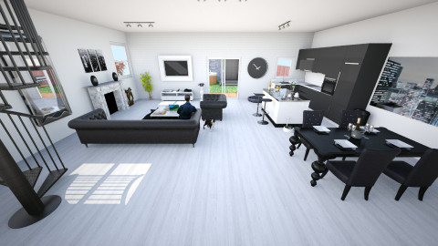 Bachelor Pad - Modern - Living room - by bec21