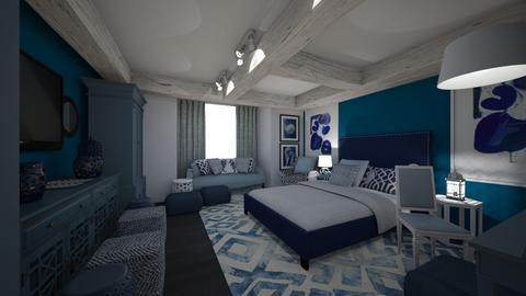 Room 1 - Bedroom - by MihaelK