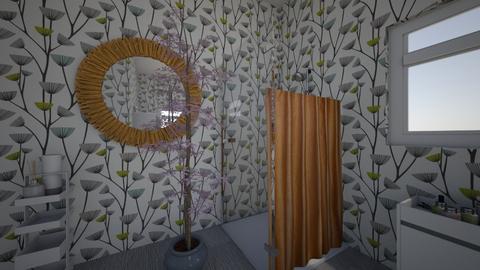 Rustic Bathroom - Rustic - Bathroom - by Megumi Fairay