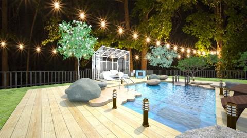 Eco Pool - Garden - by nelly_wreland