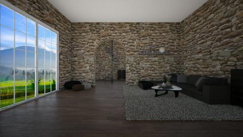 simple - Minimal - Living room - by Hajartjee