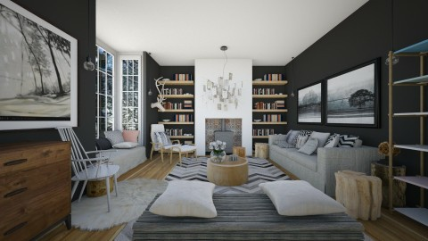 Partanen - Modern - Living room - by camilla_saurus