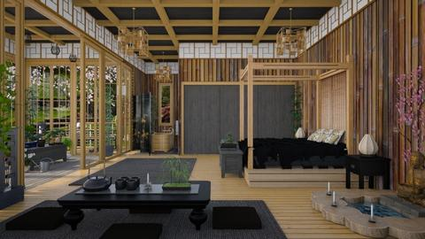 Design 438 Shou Sugi Ban - Bedroom - by Daisy320