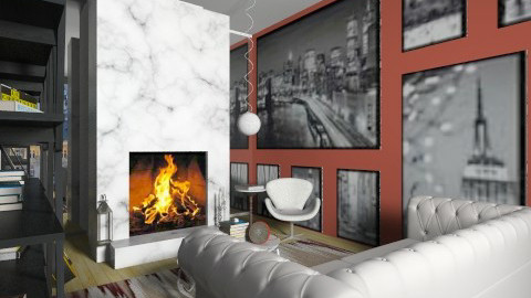 Jennifer - Living room - by Garota de Ipanema