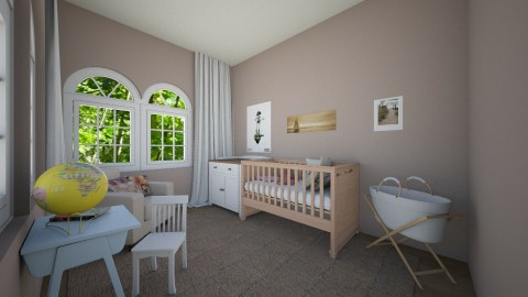 chambre de bebe - Modern - Kids room - by Carole Fontaine