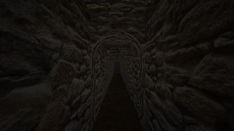 Underground Castle Tunnel - by SammyJPili